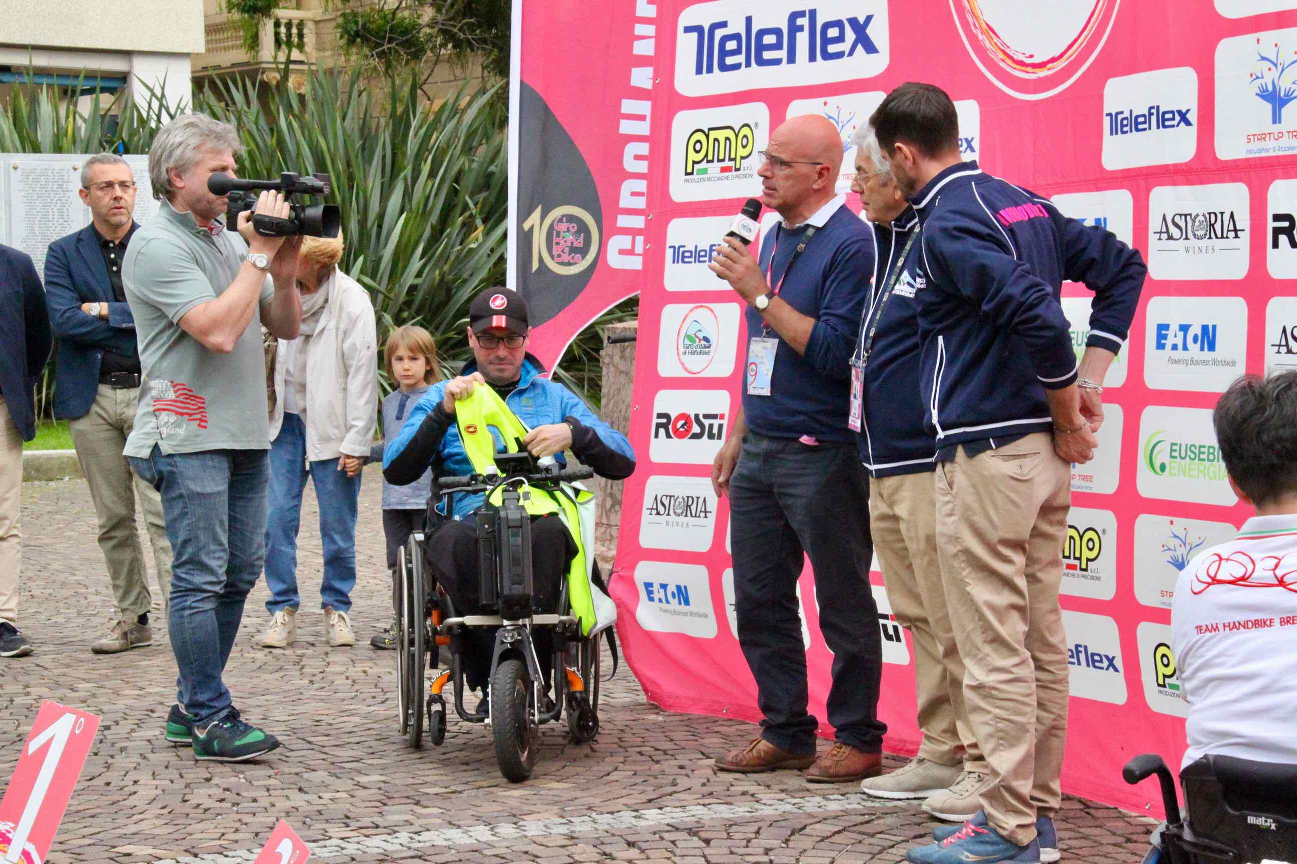 1° Memorial don Nando Negri a Chiavari per il Giro d'Italia Handbike 2018 - 16