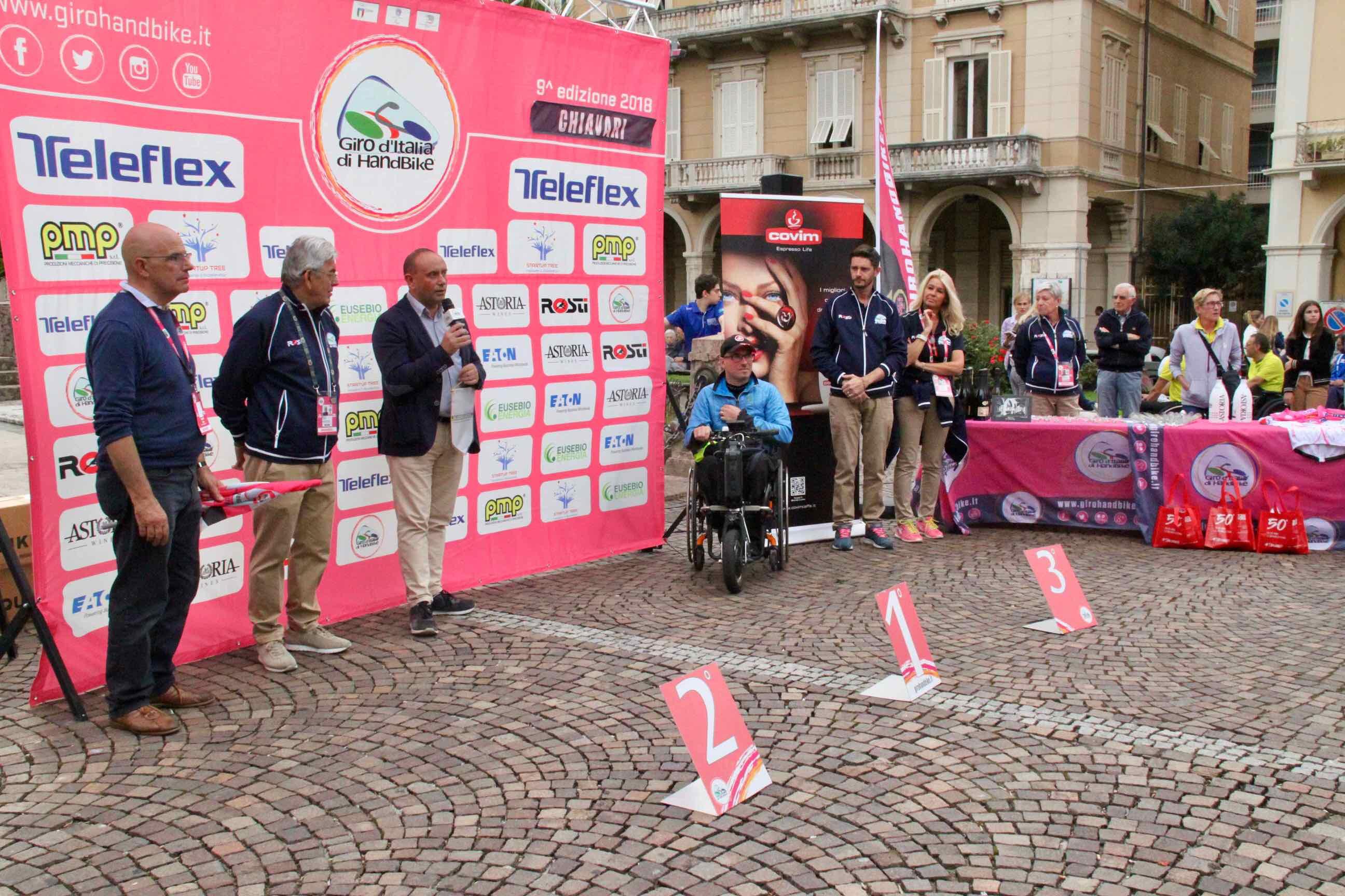 1° Memorial don Nando Negri a Chiavari per il Giro d'Italia Handbike 2018 - 18