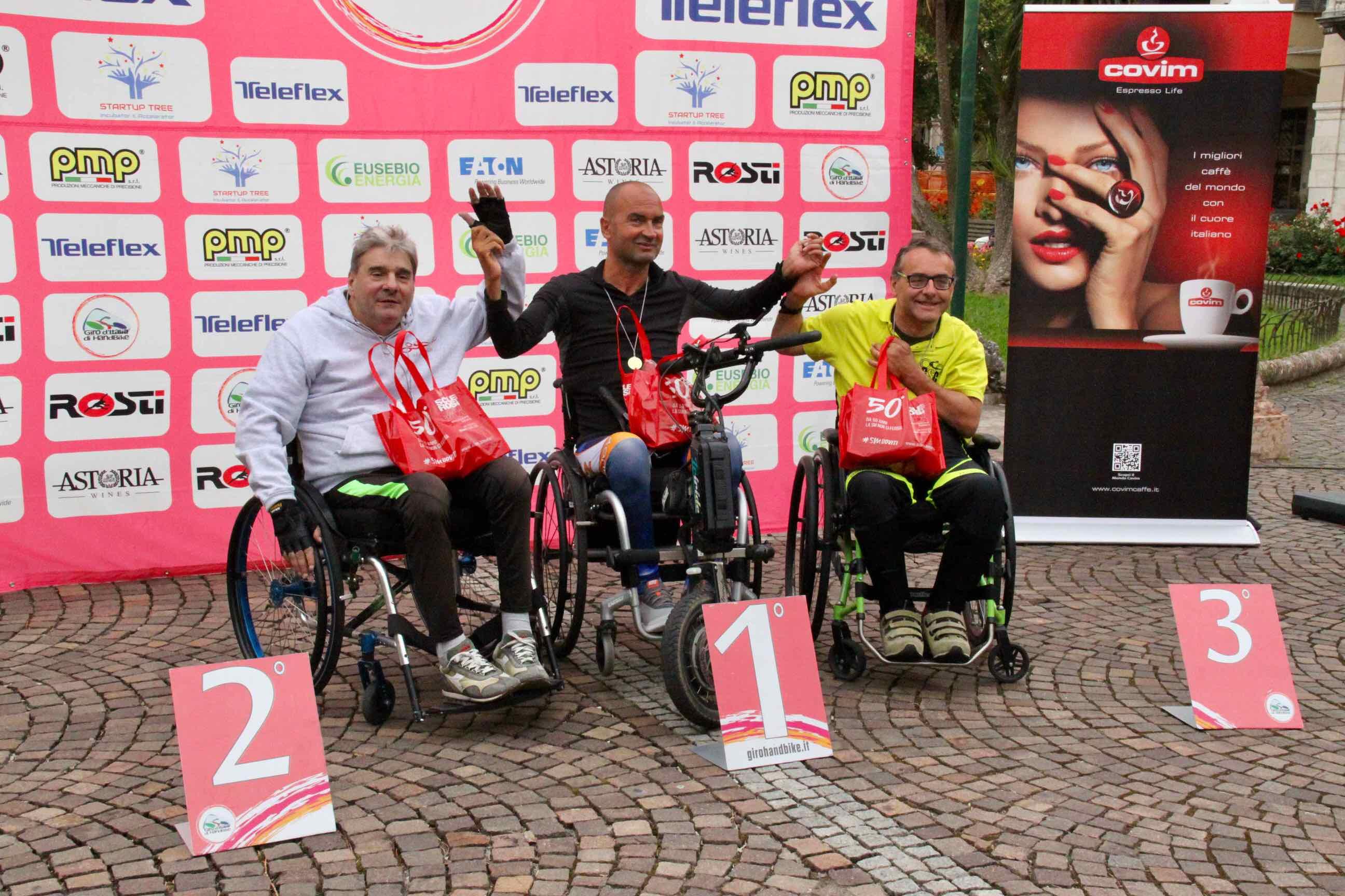 1° Memorial don Nando Negri a Chiavari per il Giro d'Italia Handbike 2018 - 19
