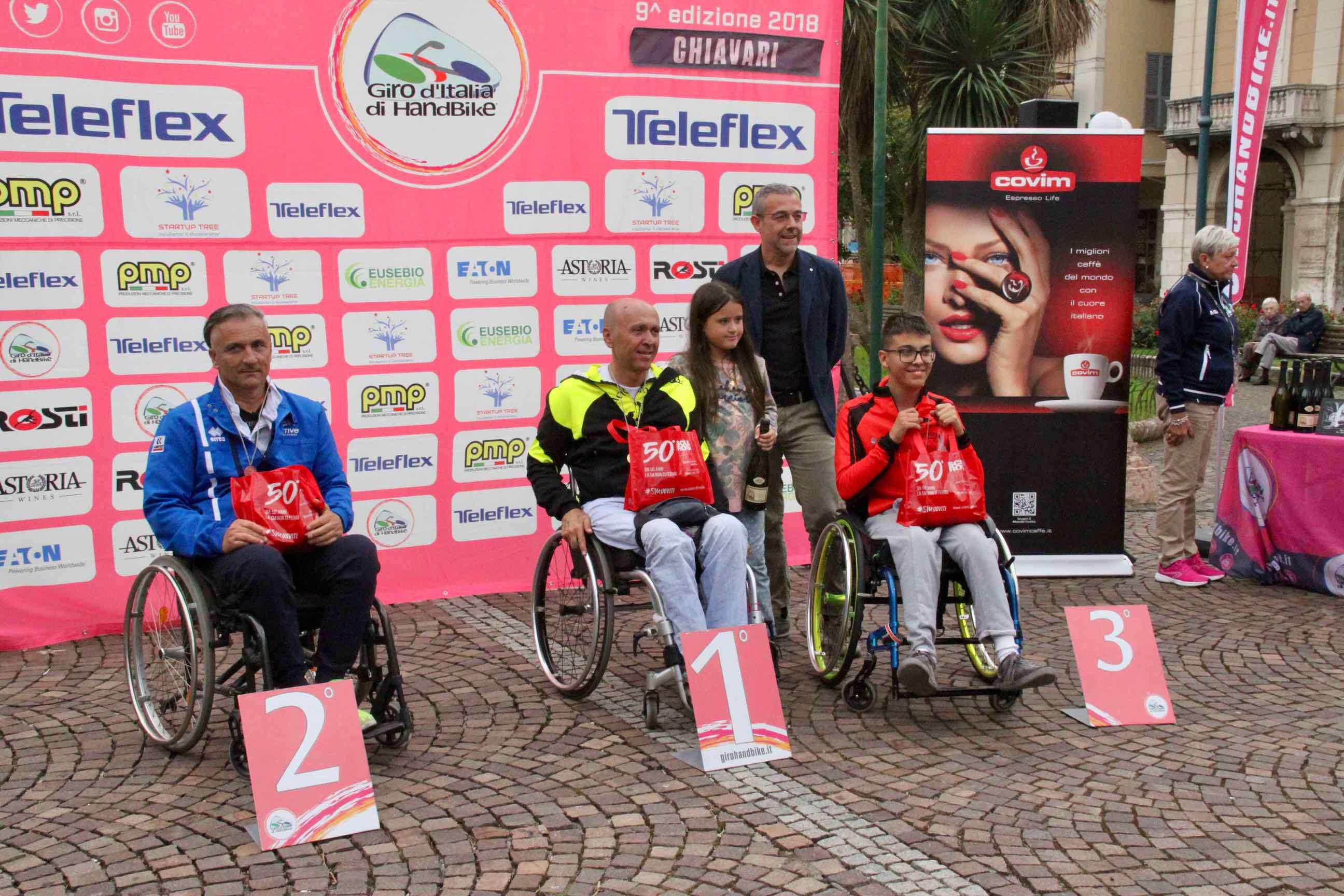 1° Memorial don Nando Negri a Chiavari per il Giro d'Italia Handbike 2018 - 20