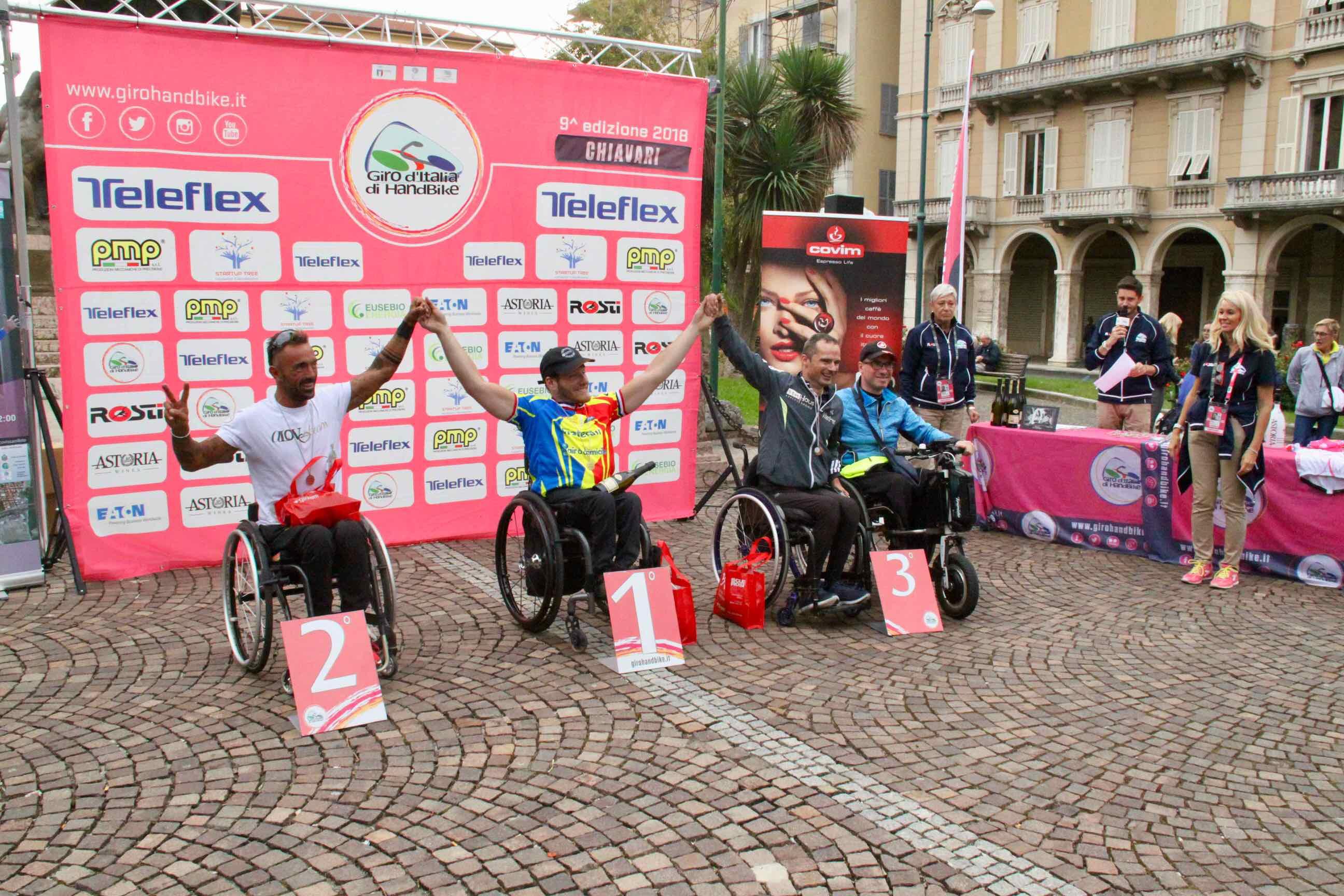 1° Memorial don Nando Negri a Chiavari per il Giro d'Italia Handbike 2018 - 22
