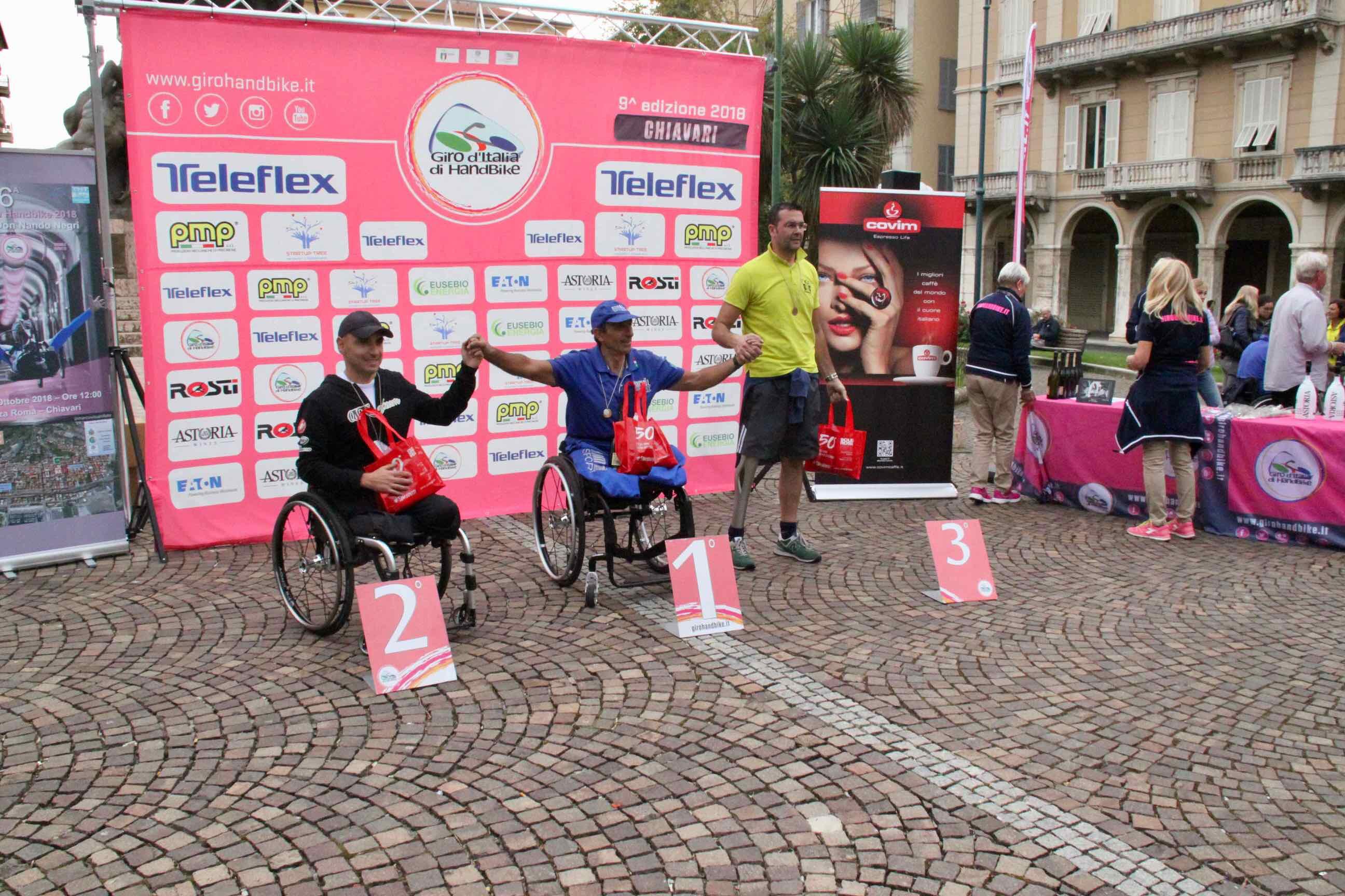 1° Memorial don Nando Negri a Chiavari per il Giro d'Italia Handbike 2018 - 23