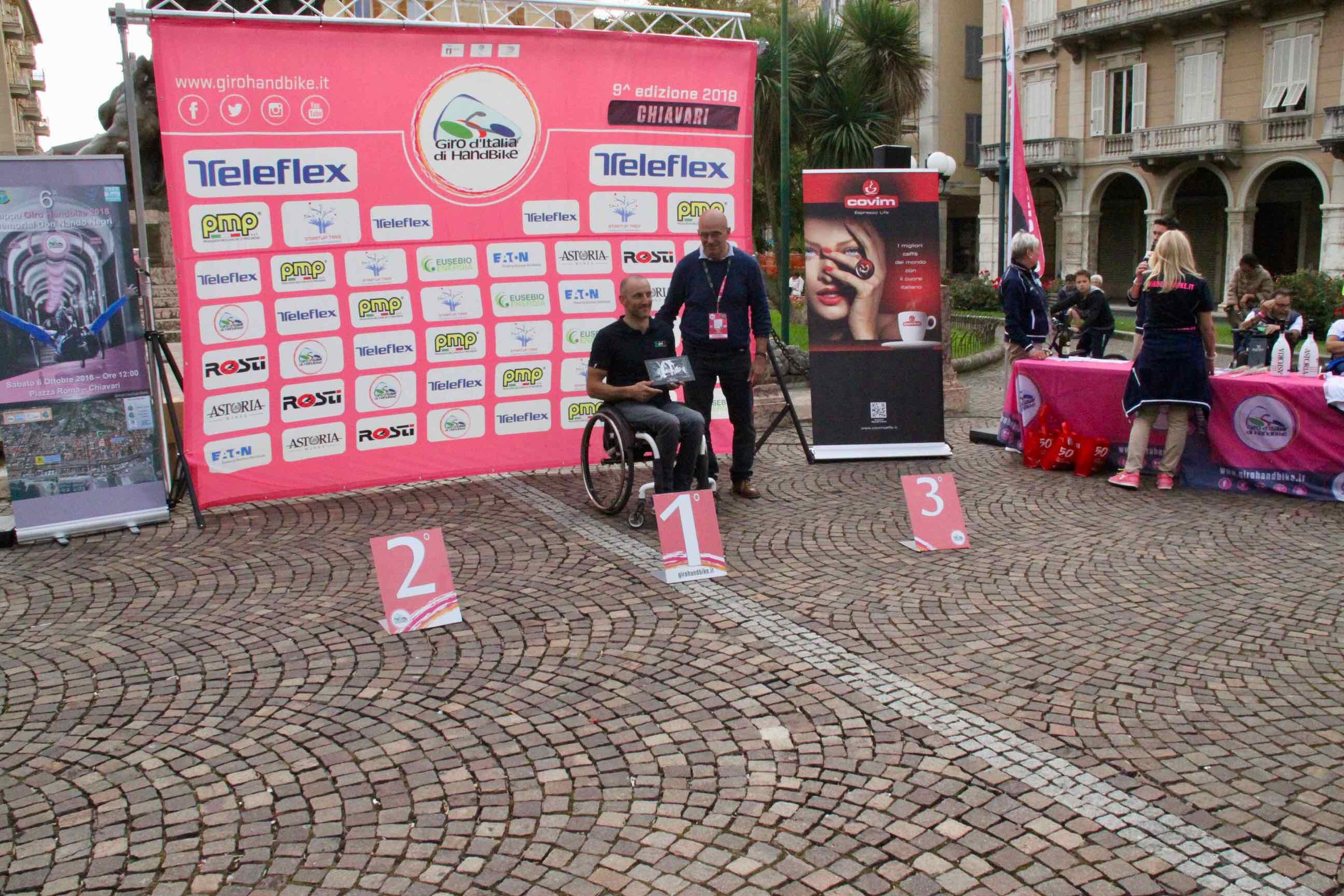 1° Memorial don Nando Negri a Chiavari per il Giro d'Italia Handbike 2018 - 24