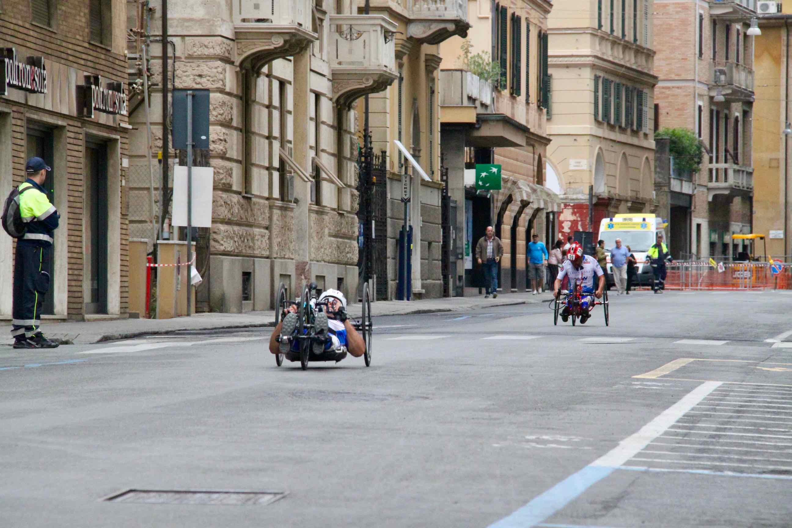 1° Memorial don Nando Negri a Chiavari per il Giro d'Italia Handbike 2018 - 6