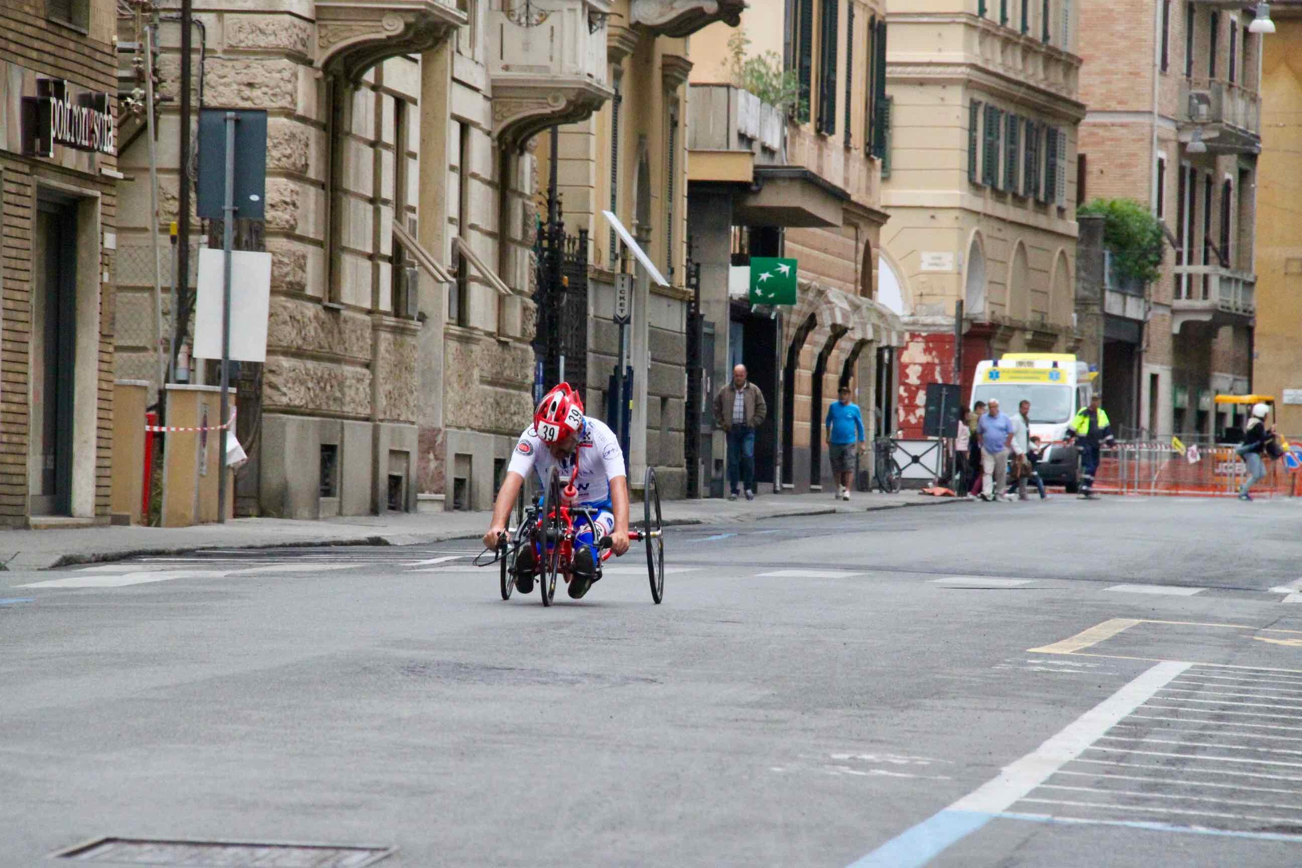 1° Memorial don Nando Negri a Chiavari per il Giro d'Italia Handbike 2018 - 7