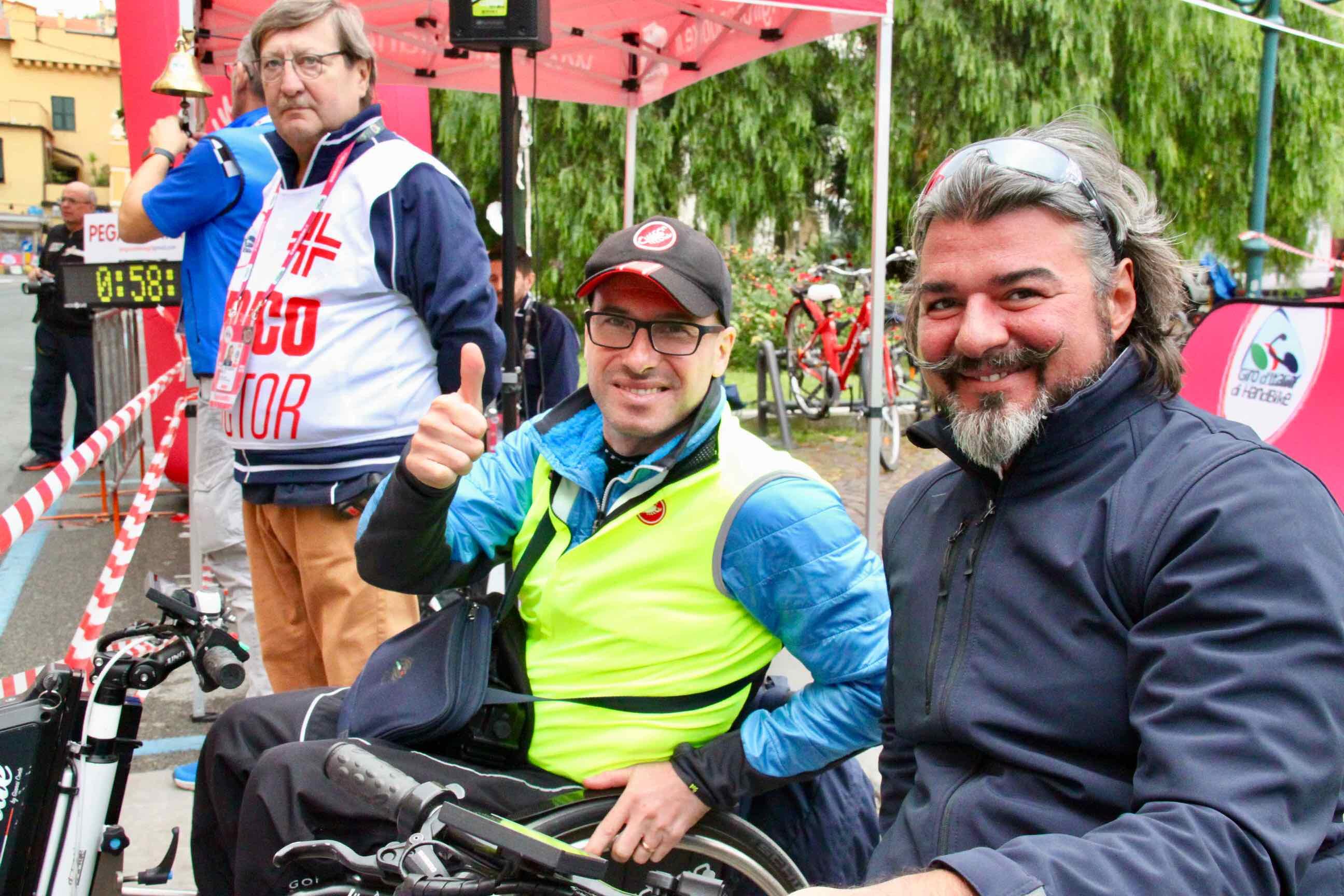 1° Memorial don Nando Negri a Chiavari per il Giro d'Italia Handbike 2018 - 8
