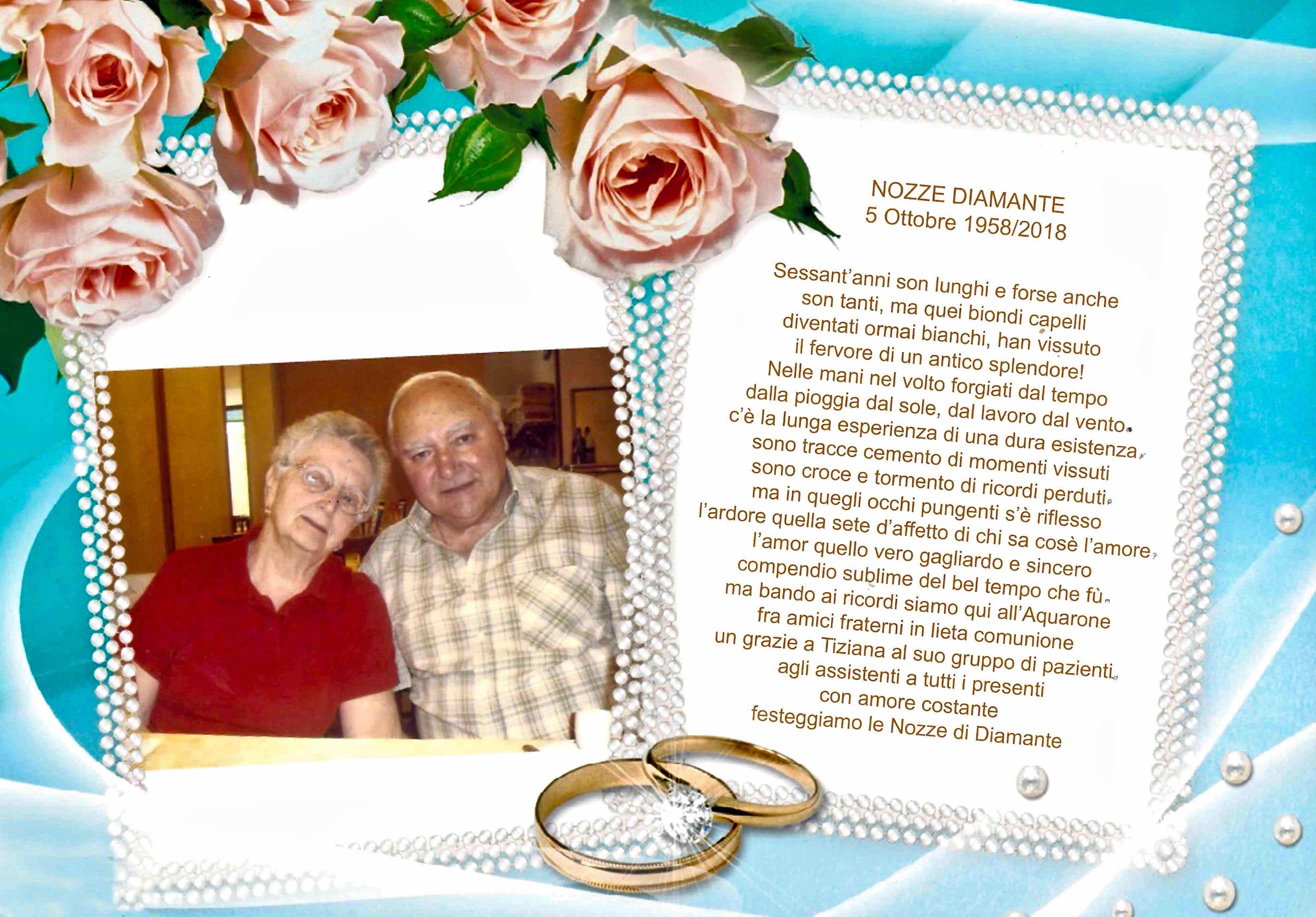 Anniversario di nozze Maddalena e Sandro