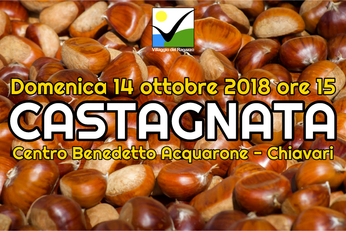 Castagnata 2018 Centro Benedetto Acquarone