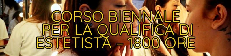 Corso Biennale per la Qualifica di Estetista – 1800 ore
