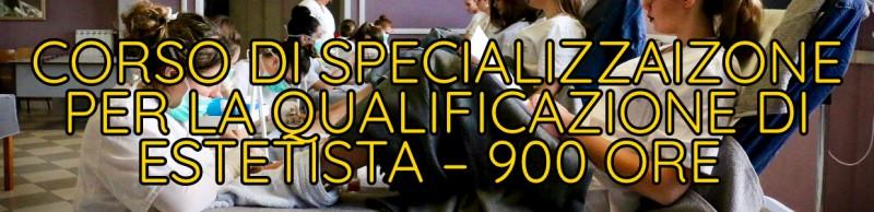 Corso di Specializzazione per la Qualificazione di Estetista - 900 ore