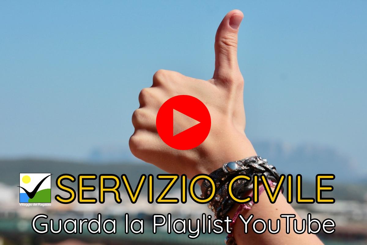 Cover playlist Servizio Civile Villaggio del Ragazzo