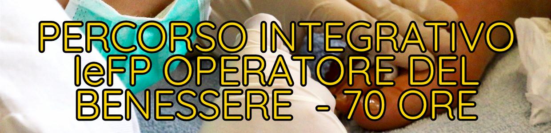 Percorso Integrativo IeFP Operatore del Benessere - 70 ore