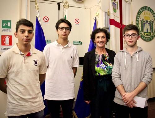 Borse di studio Rotary e Fondazione Zavattaro: premi agli allievi del Centro San Salvatore e contributo per l'Area Disabili del Centro Acquarone