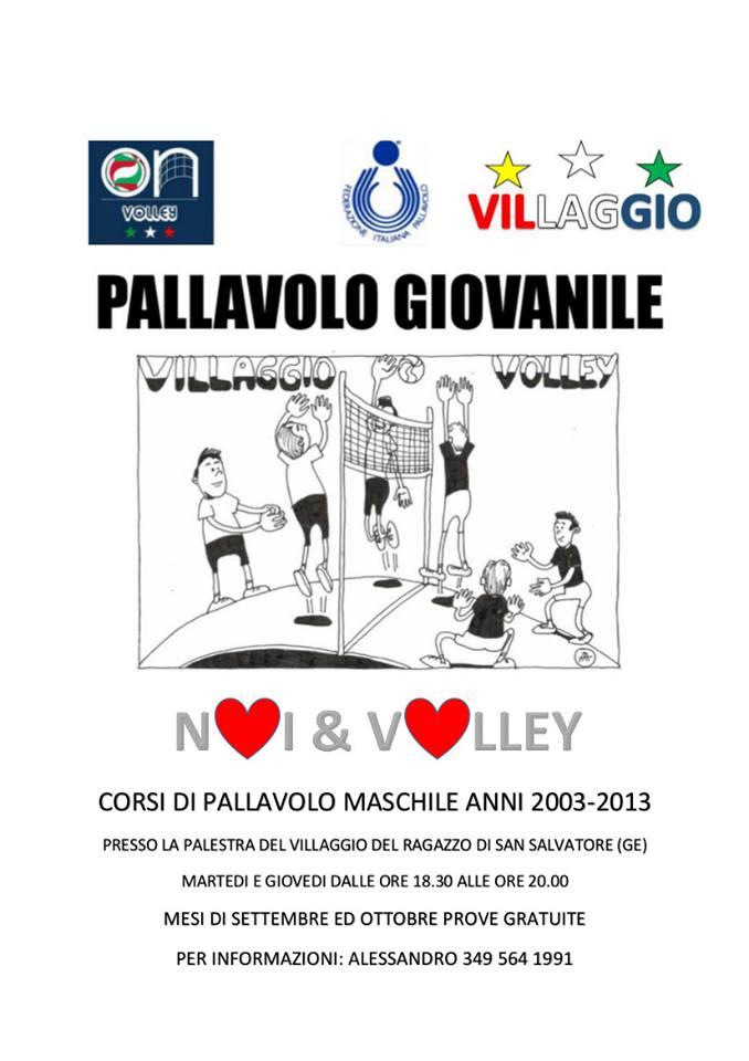 Villaggio Volley - Corsi di Pallavolo Maschile anni 2003-2013