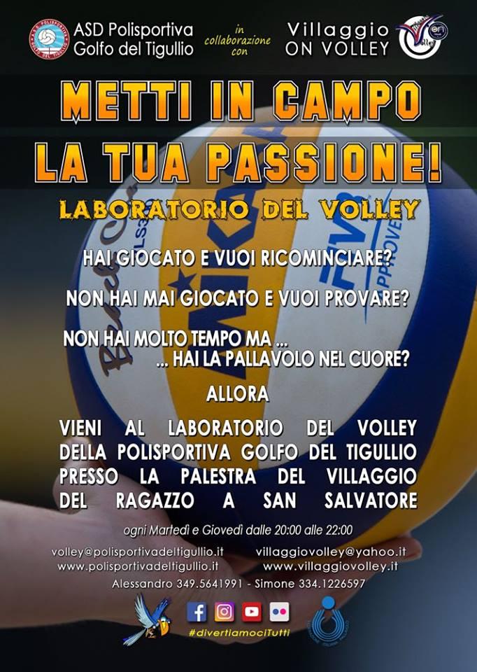 Villaggio Volley - Metti in campo la tua passione