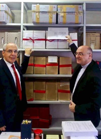 Consegnato il plico con la documentazione su don Nando Negri alla Congregazione per le cause dei Santi