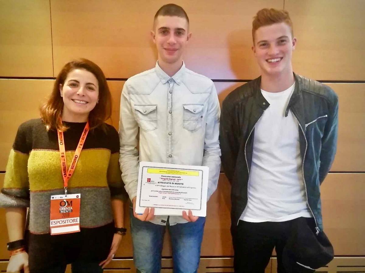 Premiazione Concorso Nazionale progetti Digitali IeFP 01