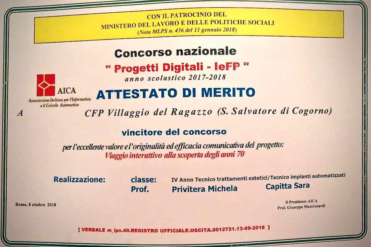 Premiazione Concorso Nazionale progetti Digitali IeFP 04