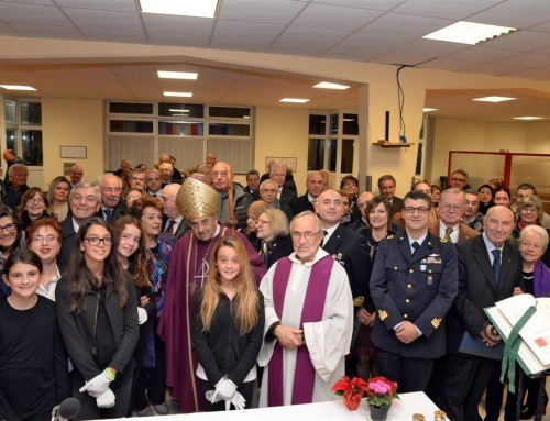 Service Club: sabato 1 dicembre 2018 messa e cena natalizia con il vescovo al Centro San Salvatore