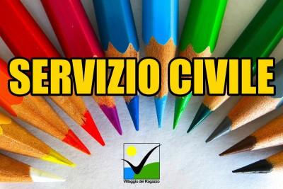 Copertina Servizio Civile 2018 Villaggio del Ragazzo