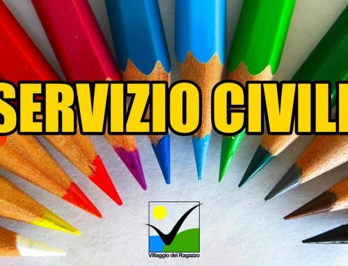 Servizio Civile: pubblicate le graduatorie dei progetti del Villaggio del Ragazzo