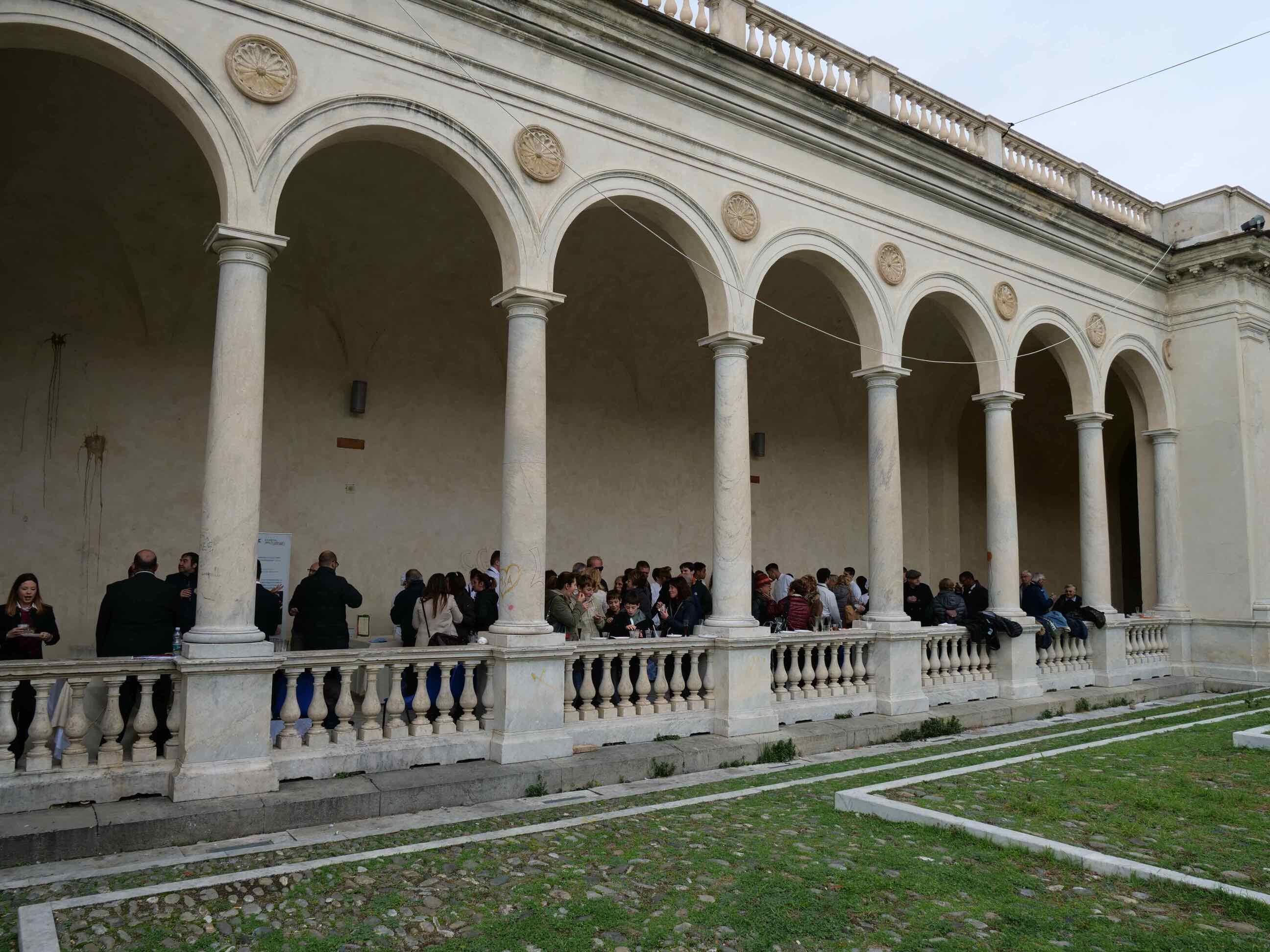 Torneo di pesto al mortaio e aperitivo di beneficienza a cura della Scuola Alberghiera di Lavagna - 1