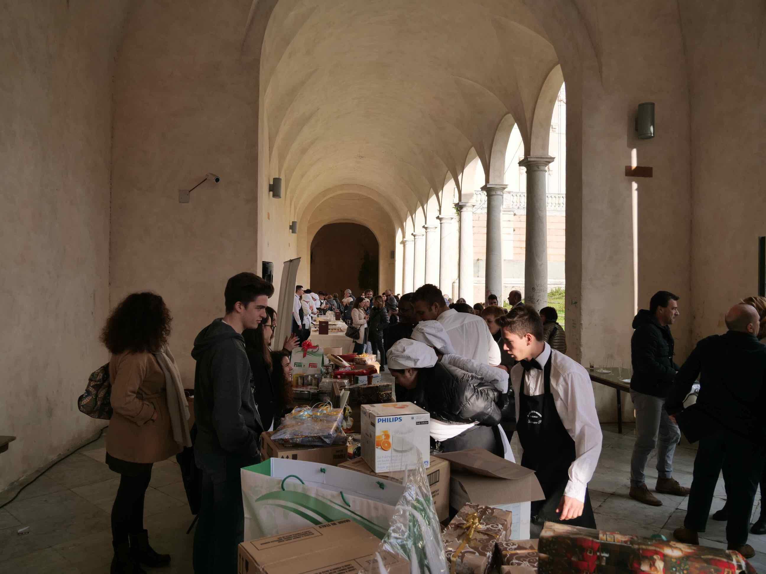 Torneo di pesto al mortaio e aperitivo di beneficienza a cura della Scuola Alberghiera di Lavagna - 18
