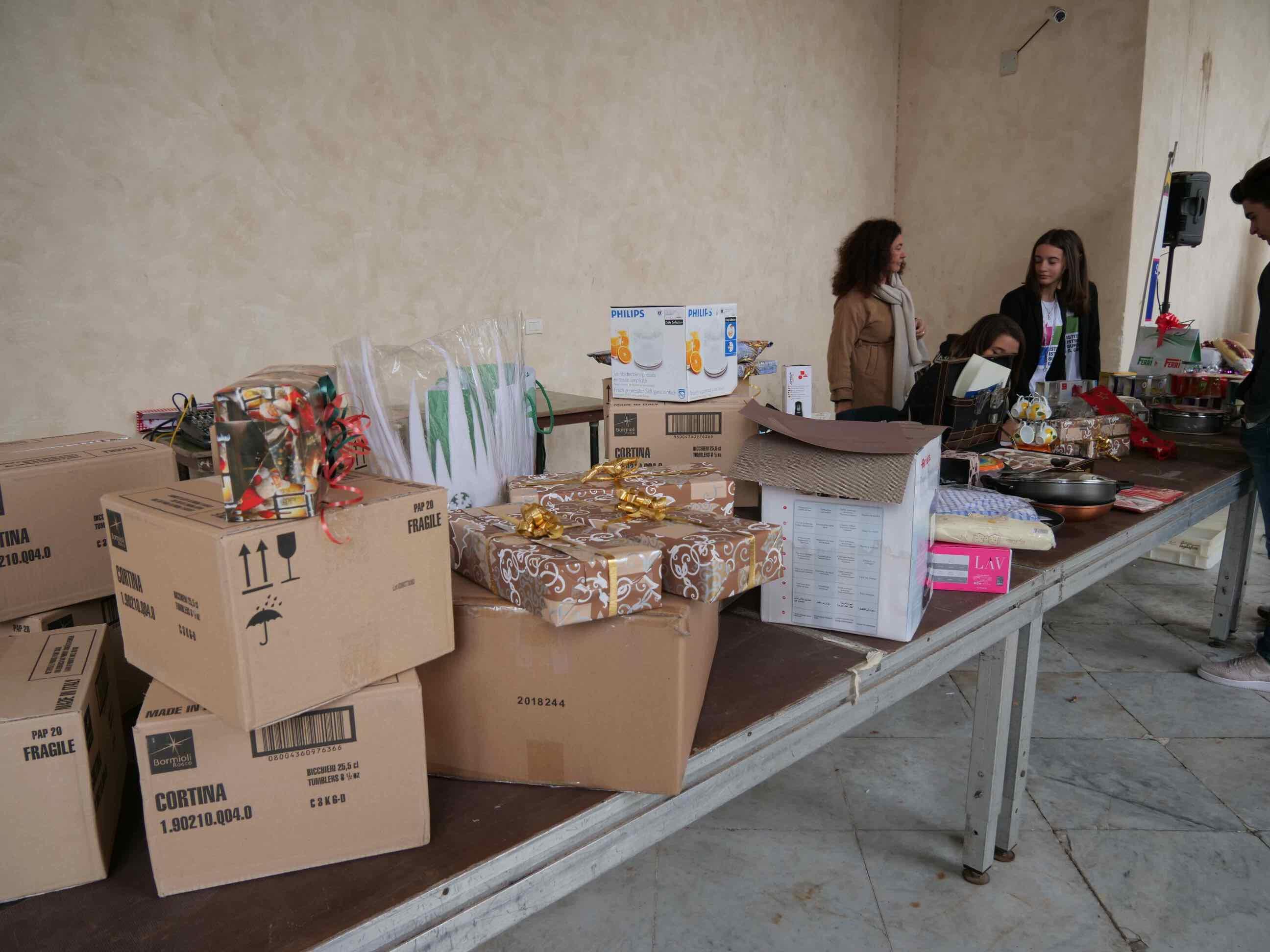 Torneo di pesto al mortaio e aperitivo di beneficienza a cura della Scuola Alberghiera di Lavagna - 4