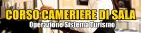 Banner Corso Cameriere di sala - Operazione Sistema Turismo