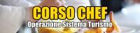 Banner Corso Chef Operazione Sistema Turismo
