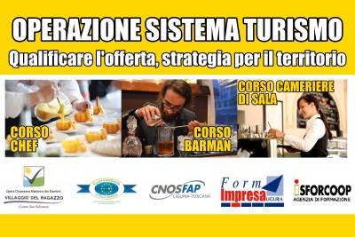Copertina Corsi Operazione Sistema Turismo - Qualificare l'offerta, strategia per il territorio