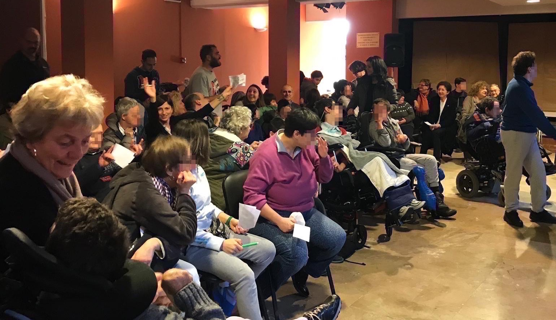 Festa della Befana Area Disabili Centro Benedetto Acquarone 2019.01.04 01