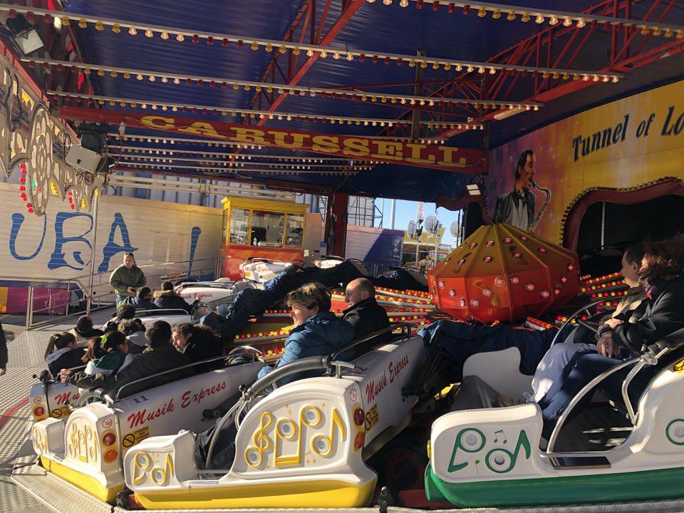 I ragazzi disabili al Luna Park di Chiavari 2019.01.07 03