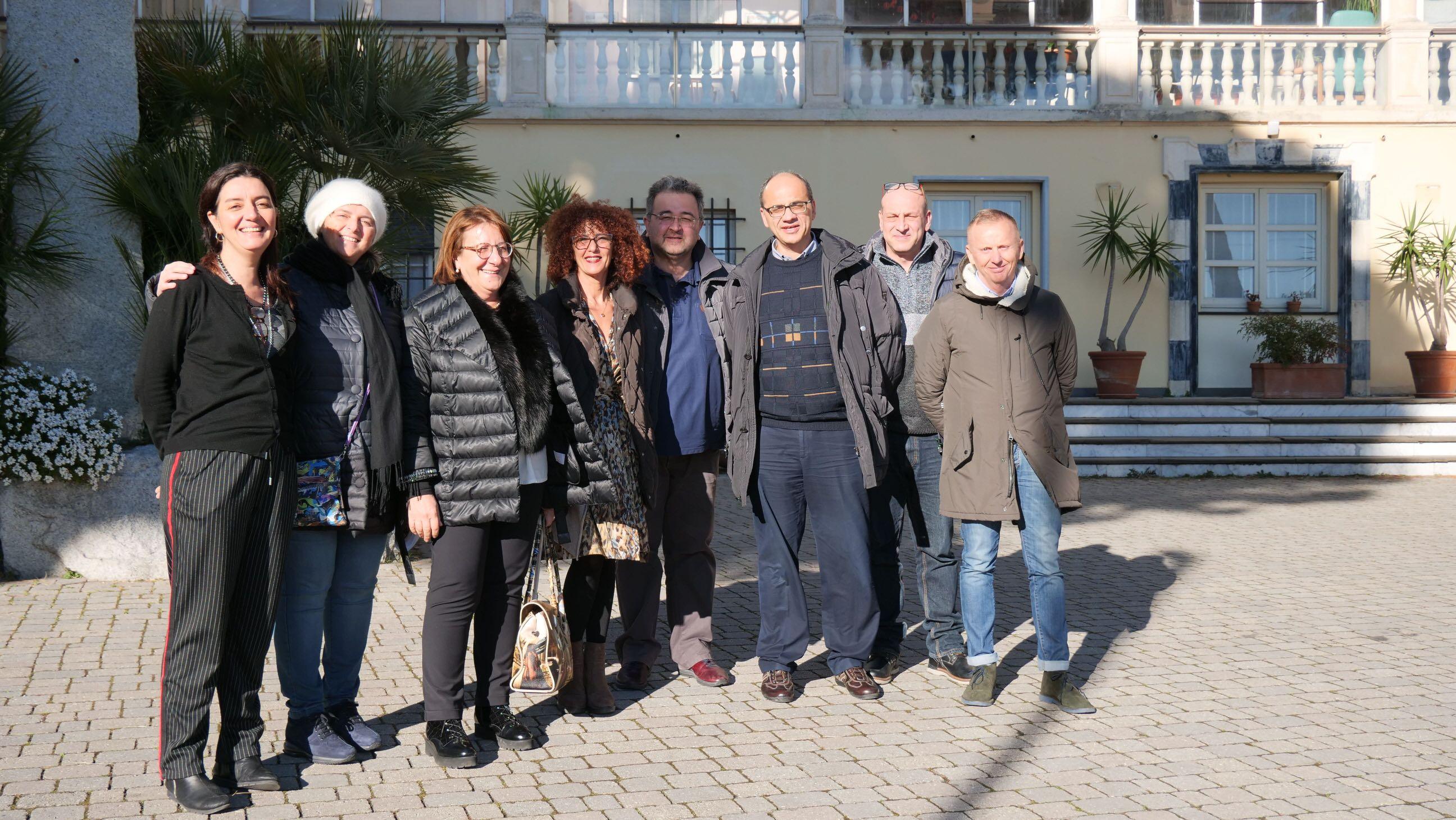 Visita responsabili don Orione Pescara 2019.01.24 - 2