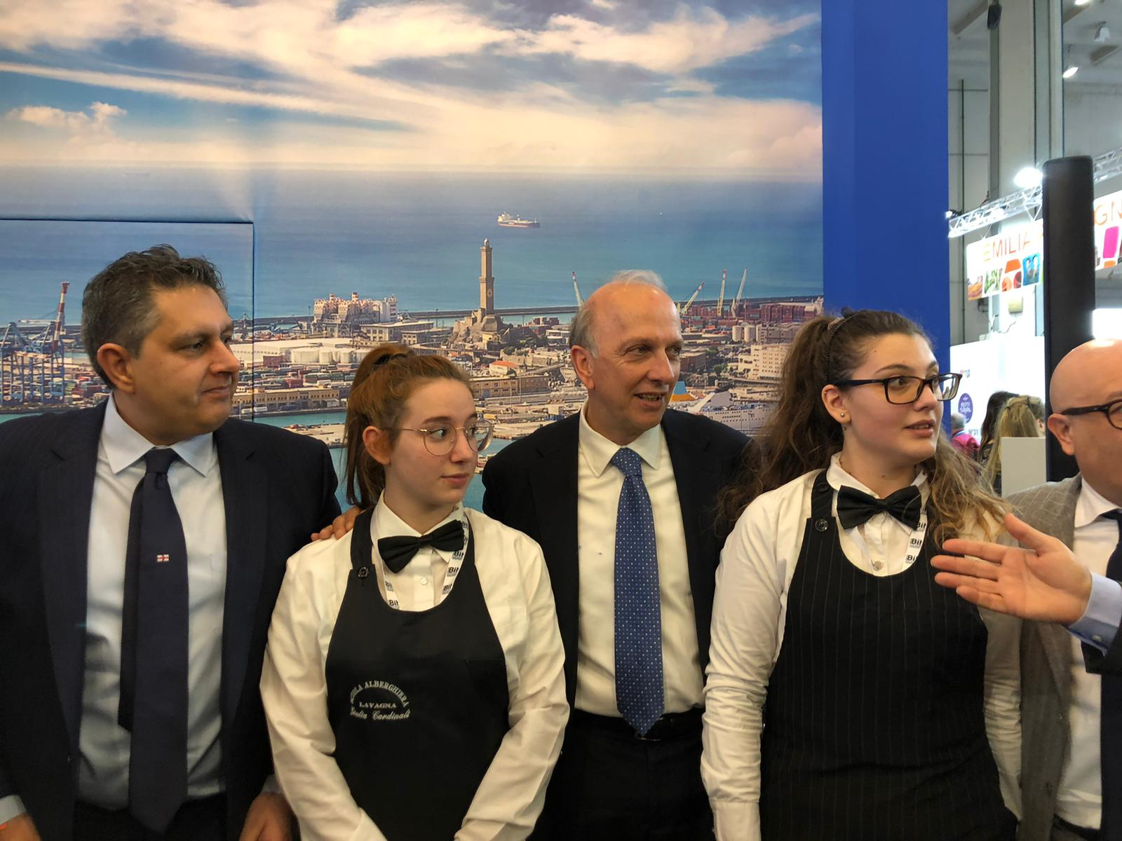 Accademia del Turismo alla Borsa Internazionale del Turismo di Milano 2019.02.11 01