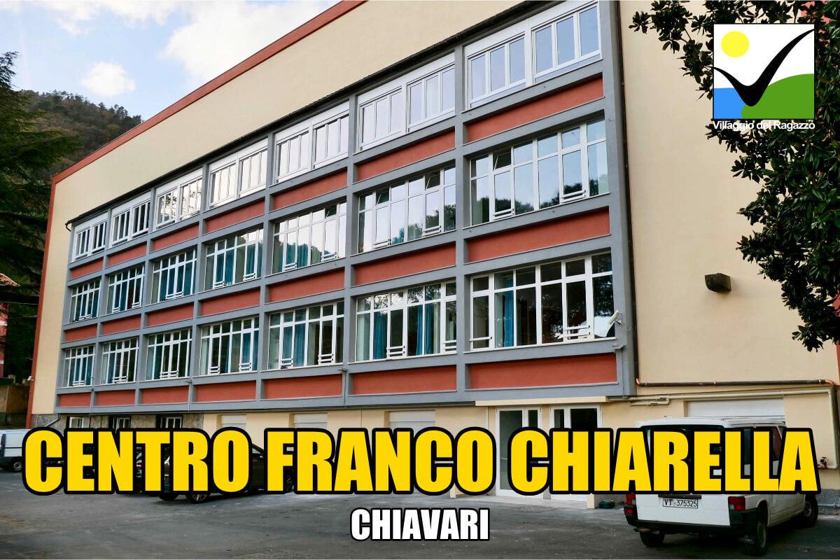 Centro Franco Chiarella - Villaggio del Ragazzo - Chiavari