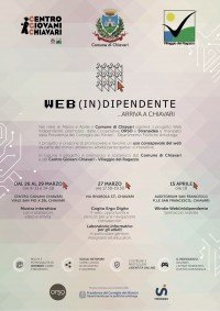 Locandina Progetto Web InDipendente Chiavari