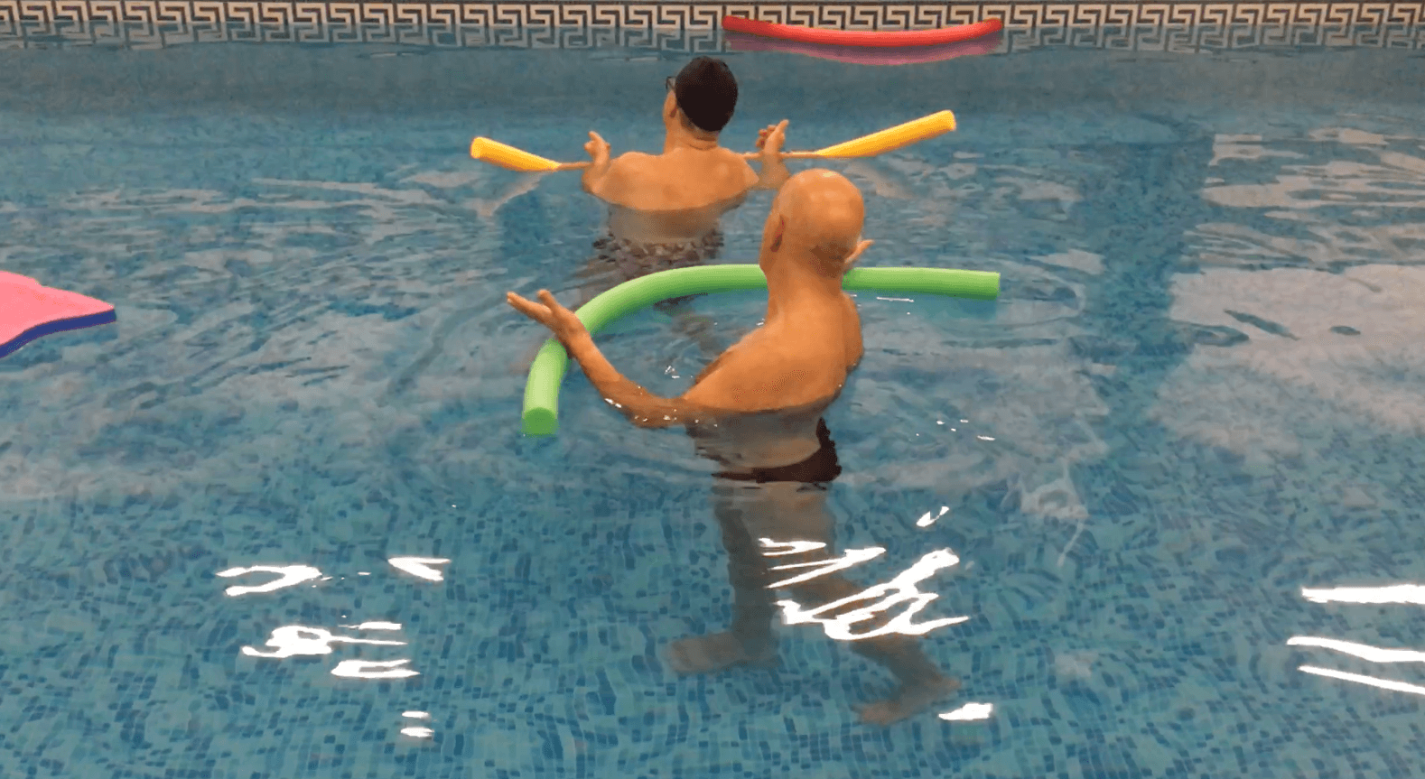 L'esperienza del progetto Aquasalus nella piscina terapeutica del Centro Benedetto Acquarone