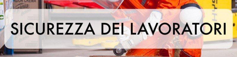 Banner Corso VRS Sicurezza dei Lavoratori