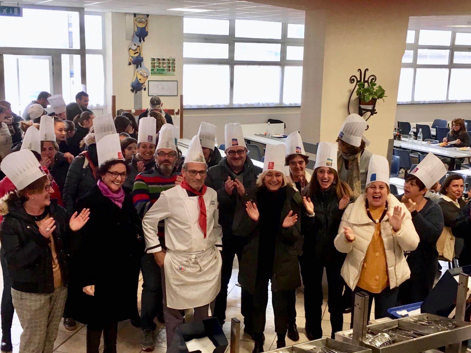 Festa a sorpresa per lo chef Luciano Corino al Centro San Salvatore