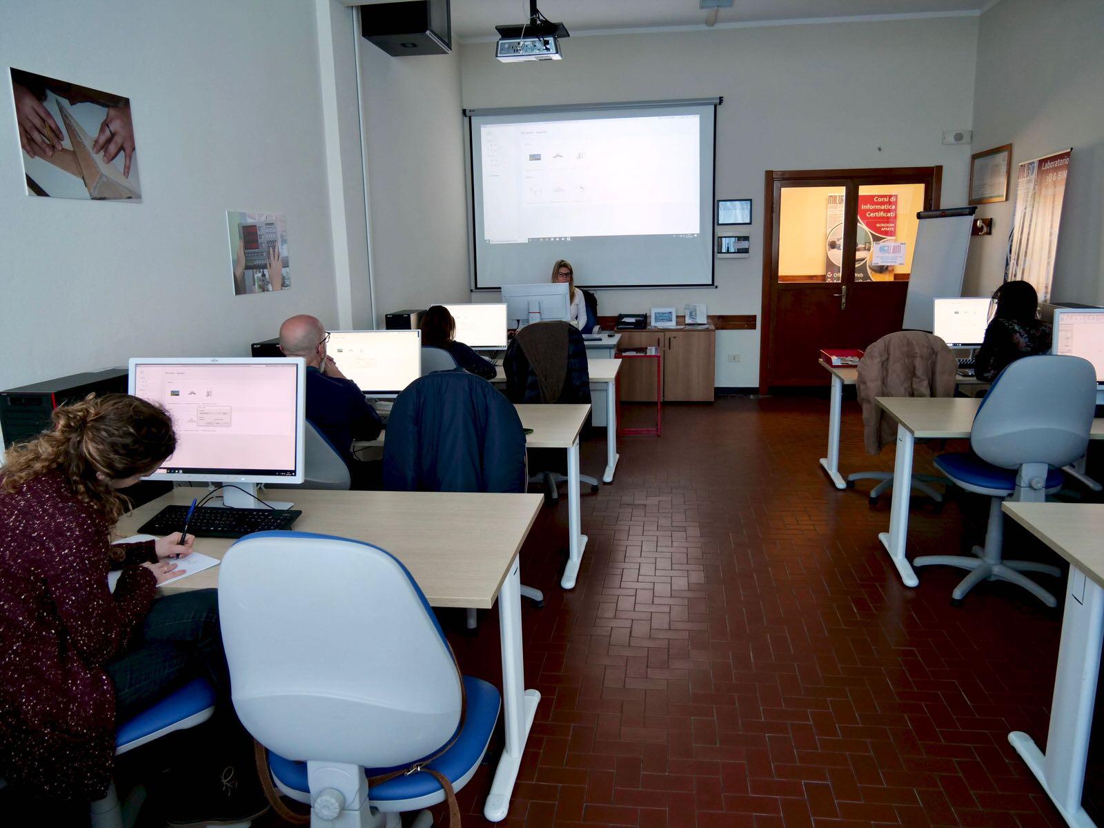 Inaugurata al Centro San Salvatore - Villaggio del Ragazzo la nuova aula dedicata al Building Information Modeling (BIM) - 3