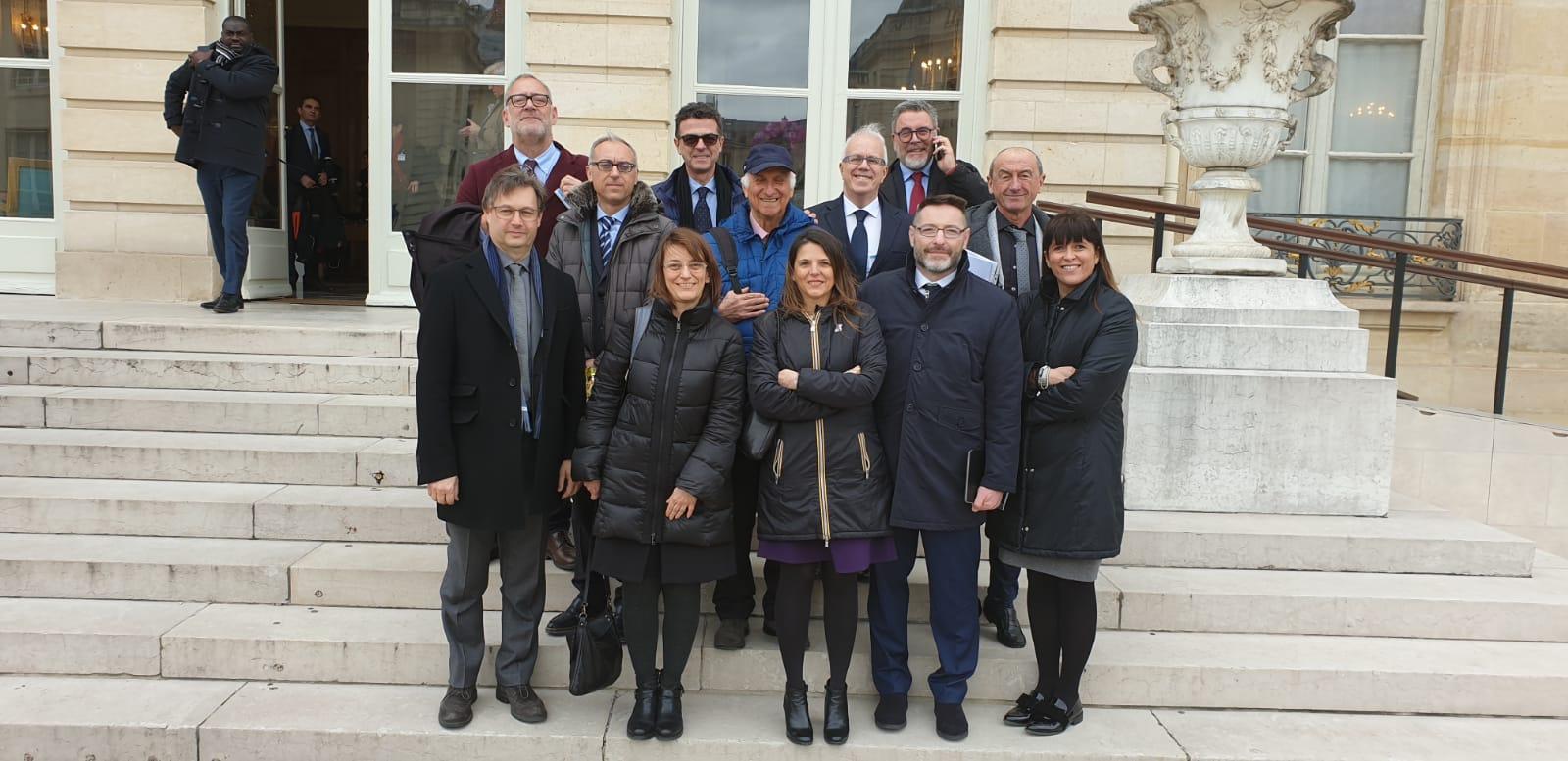 L'Accademia del Turismo a Parigi in occasione del 50° anniversario di AMFORHT