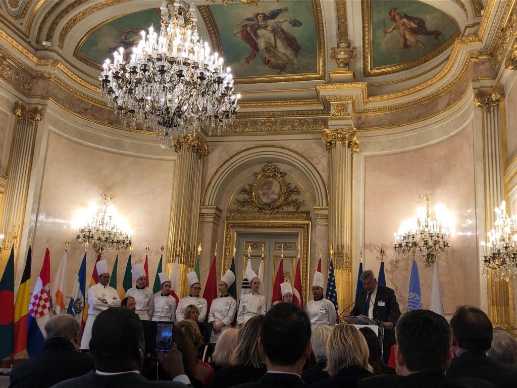 L'Accademia del Turismo a Parigi in occasione del 50° anniversario di AMFORHT 02