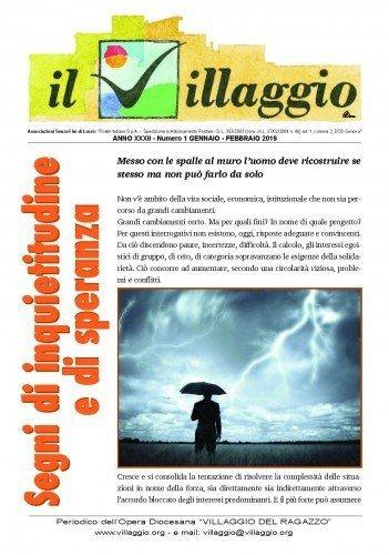 Periodico Il Villaggio - Anno XXXI n°1 gennaio-febbraio 2019