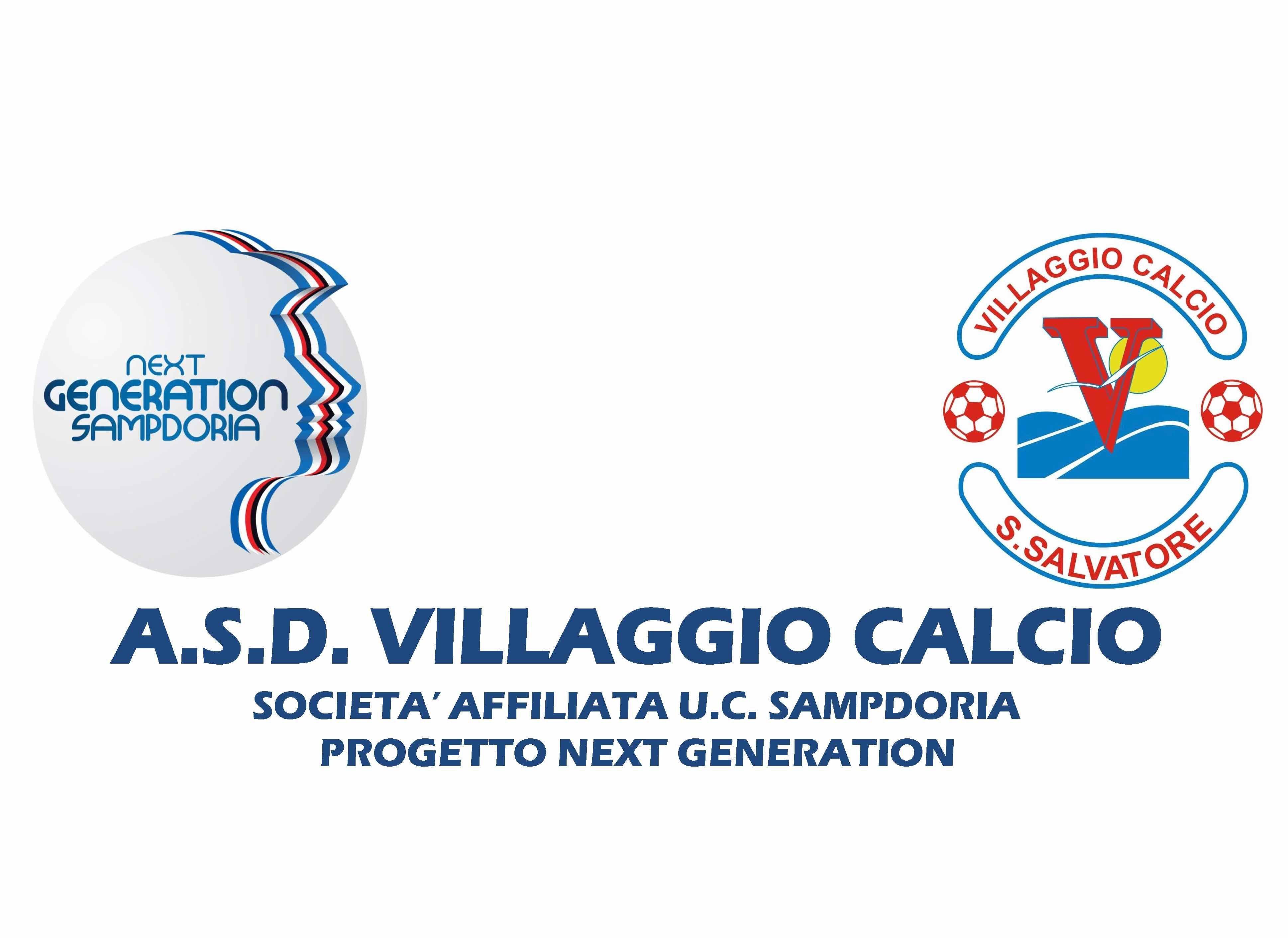 Villaggio Calcio entra a far parte del Progetto Next Generation dell'U.C. Sampdoria