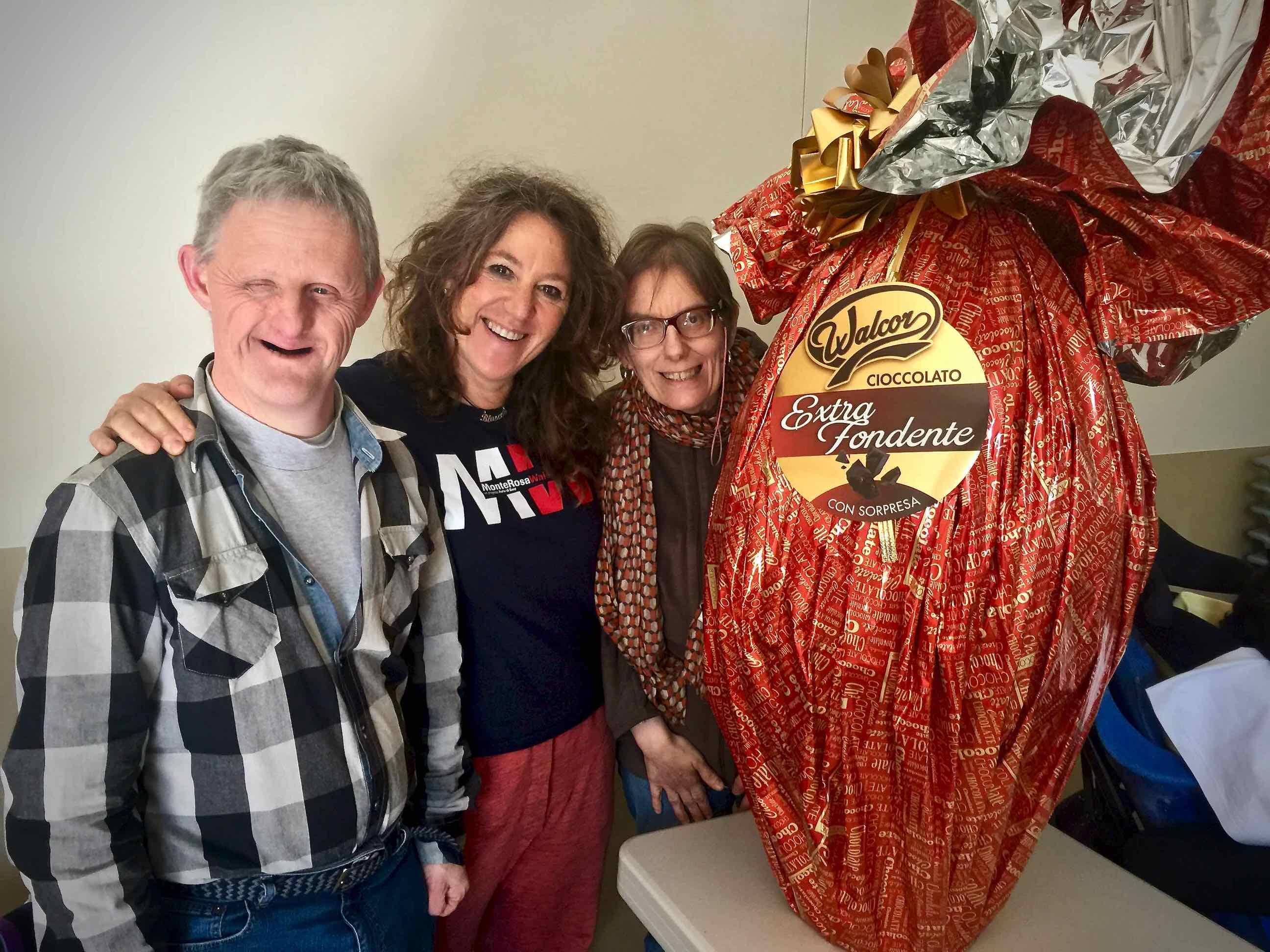 Auguri di buona Pasqua dall'Area della Disabilità del Centro Benedetto Acquarone