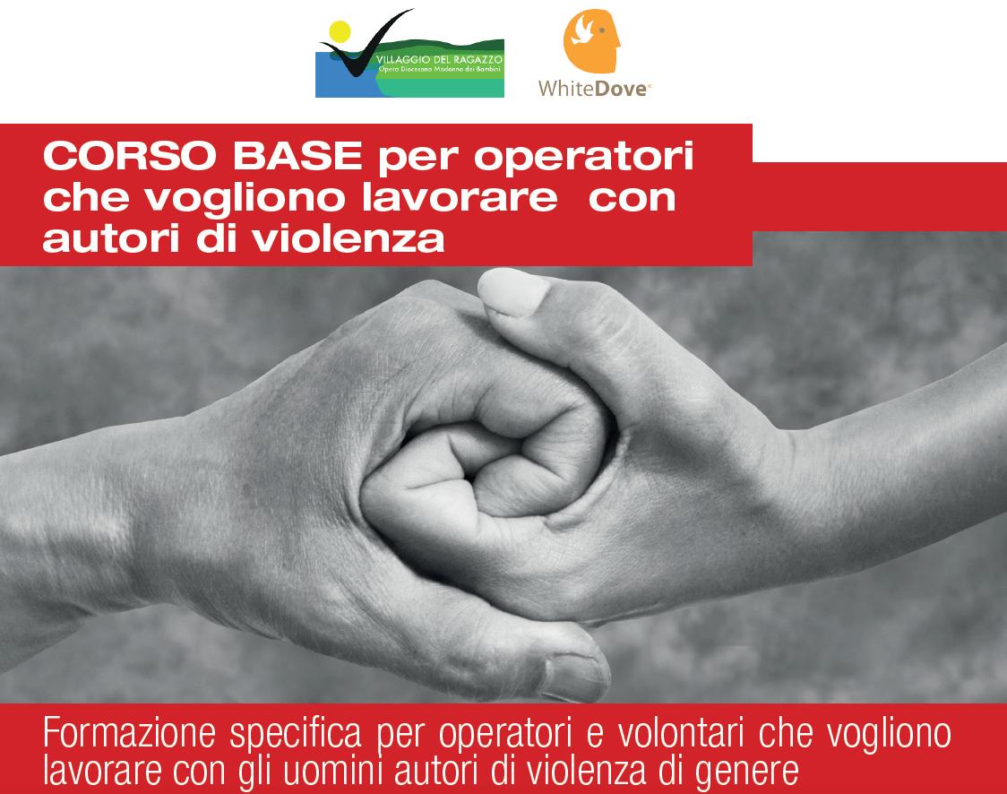 Al Centro Benedetto Acquarone un corso base per operatori che vogliono lavorare con autori di violenza