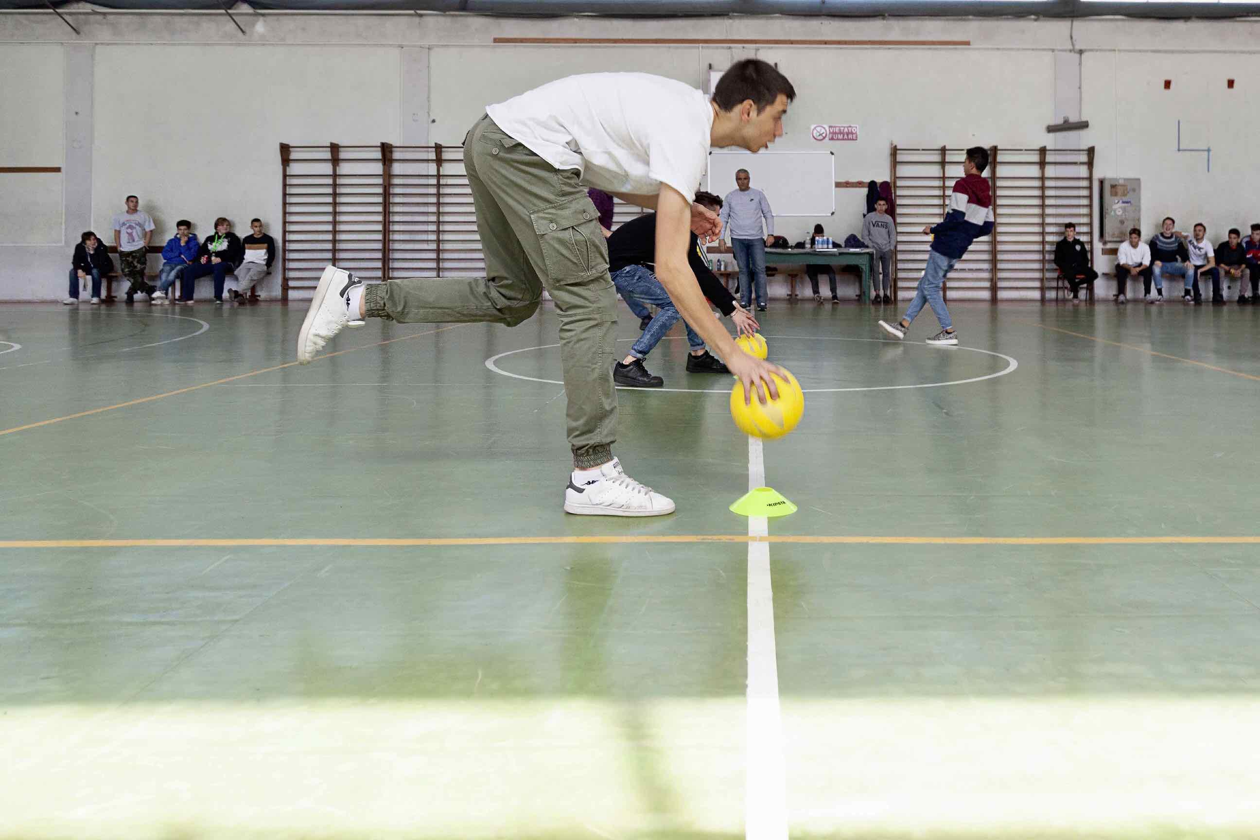 Formazione Professionale Centro San Salvatore - Torneo Dodgeball per Lucma 02