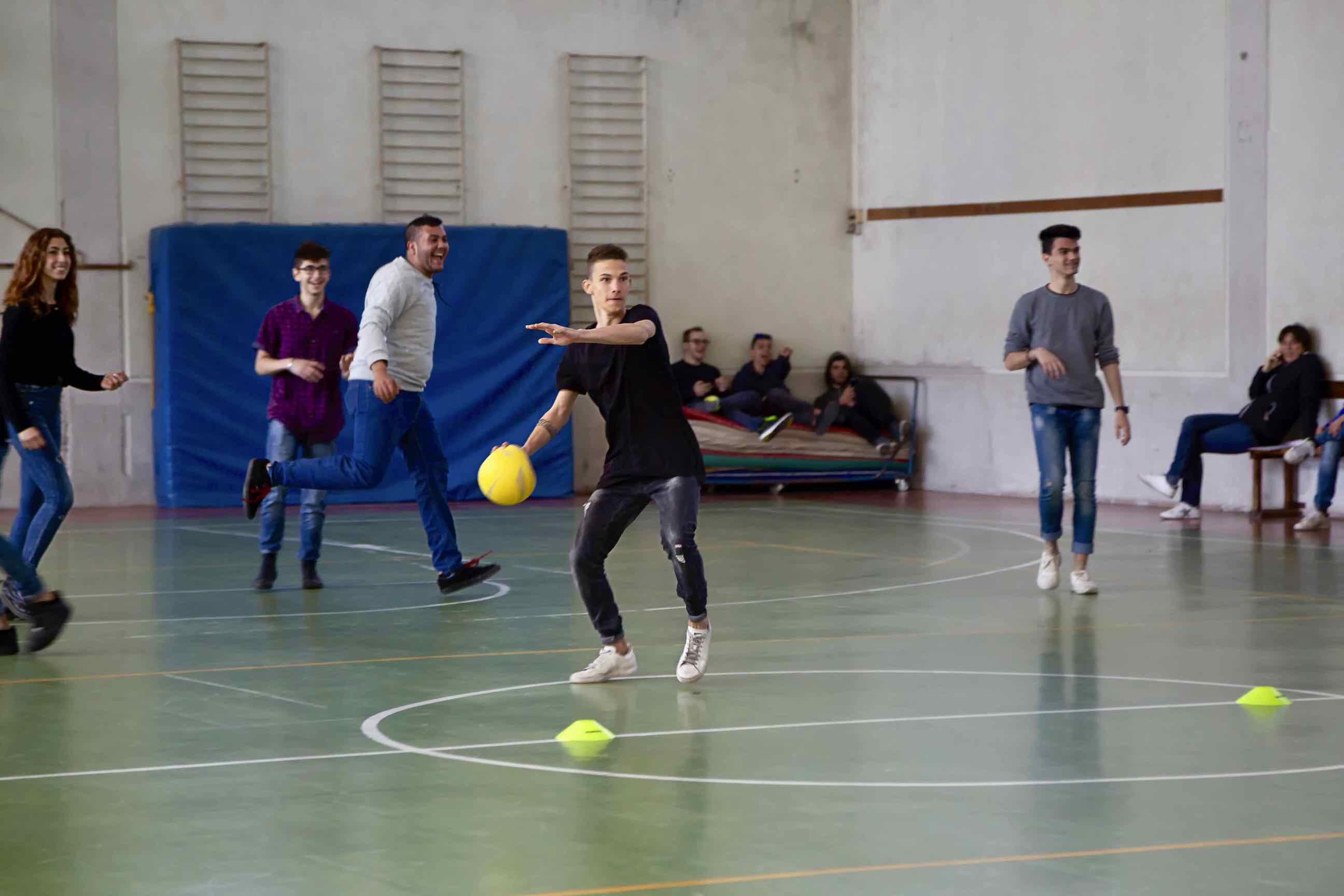 Formazione Professionale Centro San Salvatore - Torneo Dodgeball per Lucma 03