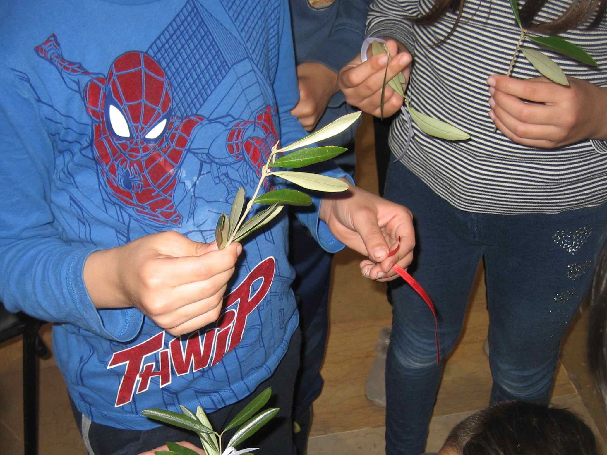 I bambini della Parrocchia di San Giuseppe dei Piani di Ri ospiti del Centro Benedetto Acquarone